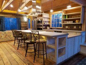 Interior Start Line Inn Cabin Rental