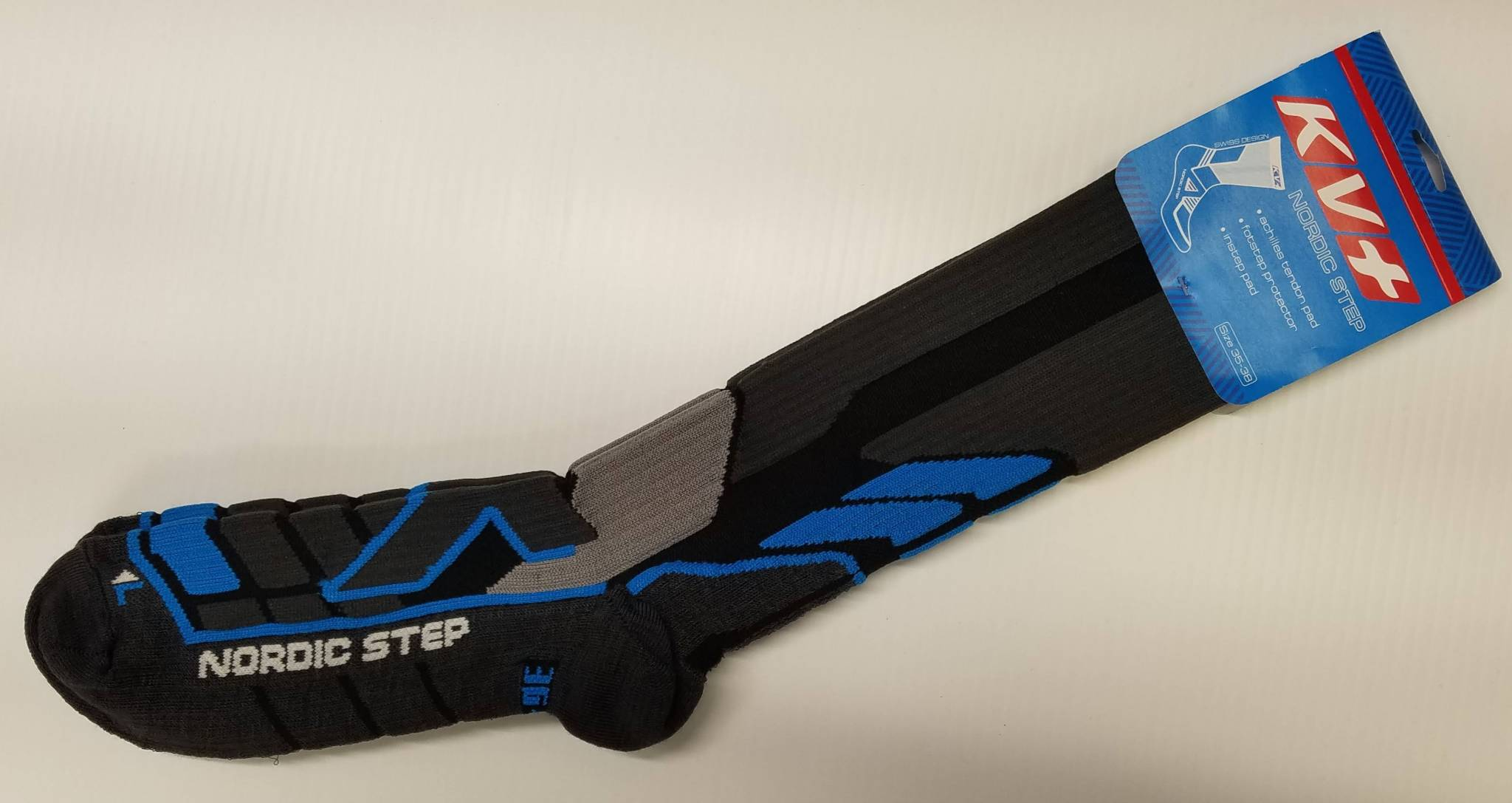 Form-fitting performance socks, so comfy.