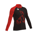 Men's Continental Jersey Front Long-sleeved