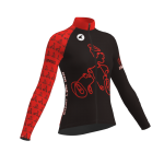 Women's Continental Jersey Front Long-sleeved